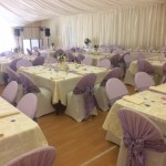 Wedding set up in our main function room - 2017